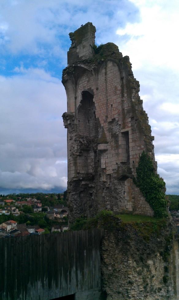 Châteaux en ruine de Chauvigny