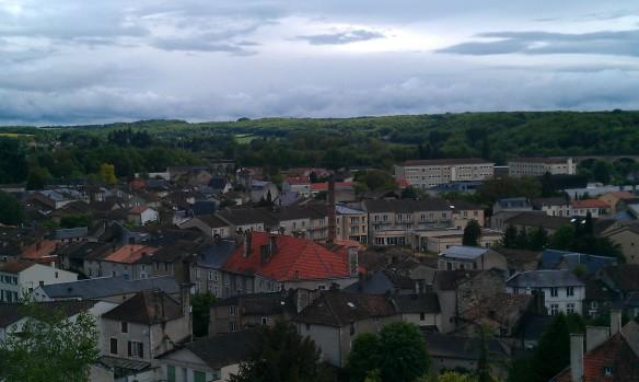 Chauvigny, dès remparts