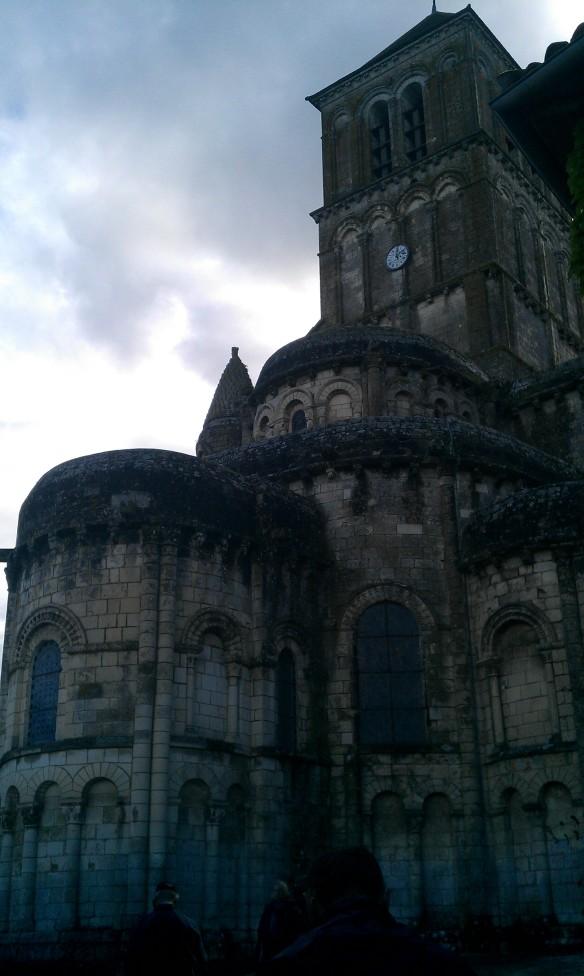 Chauvigny, l'église