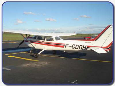 Cessna F172 - utilisé pour les baptêmes