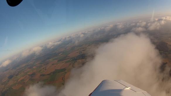 Au dessus des nuages et Ciel bleu