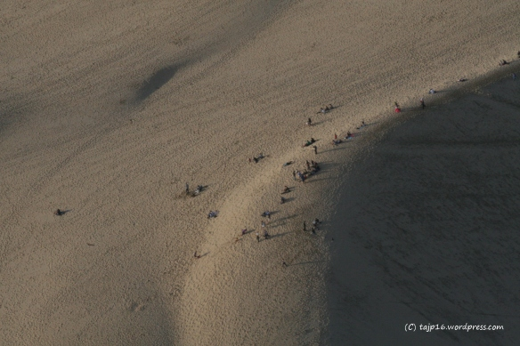 Jouiez vous sur la Dune du Pyla à ce moment là?