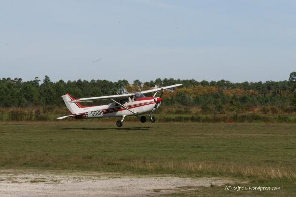 Atterrissage Andernos F172