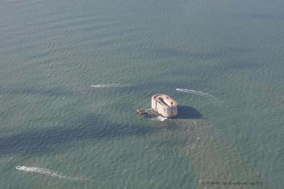 Fort Boyard et son action sur l'eau