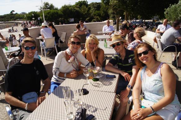 Petite bande d'amis à La Rochelle