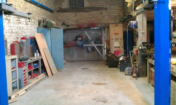 Espace de travail - Grange