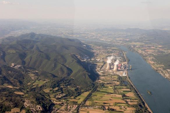 Montélimar et sa centrale nucléaire
