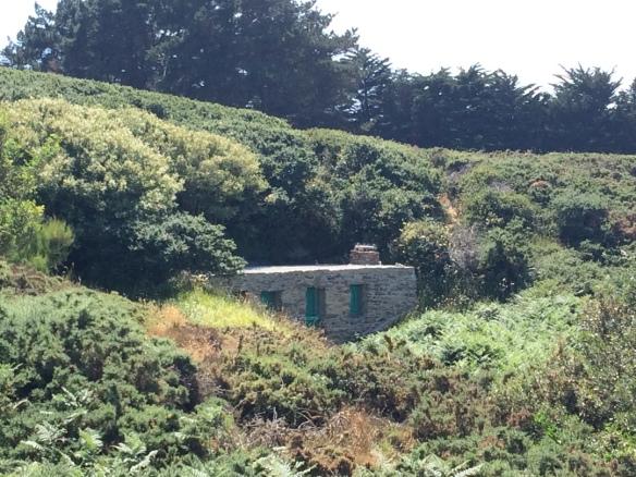 La maison d'un contrebandier... Bien camouflé :)