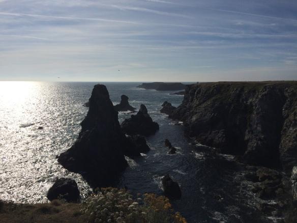 Des côtes Bretonne... Au Schiste noir