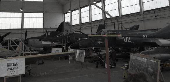 Quelques avions (Mirages)